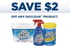 OxiClean Product Coupon