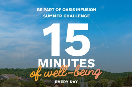 Oasis Contest | Oasis Infusion Summer Challenge Contest