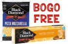 Black Diamond Cheese Coupons   BOGO Free Cheese