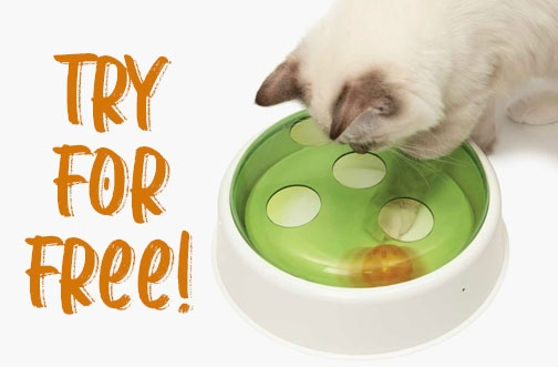 Catit Free Product Testing   Get a FREE Senses 2.0 Ball Dome Toy