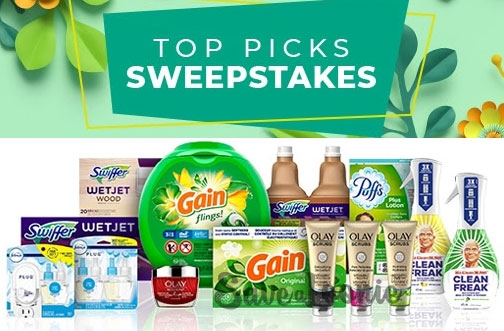P&G Canada Contest   August Top Picks Sweepstakes
