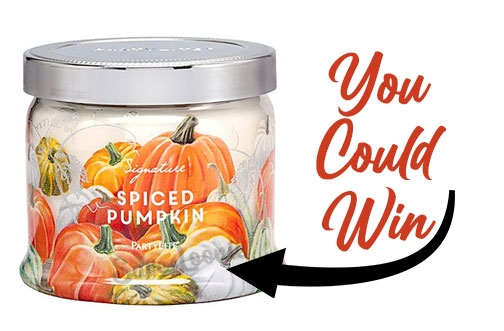 PartyLite Canada Contest | Spiced Pumpkin Giveaway