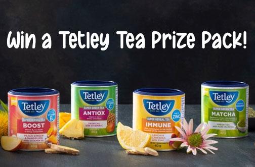Tetley Tea Contest | Super Teas Giveaway