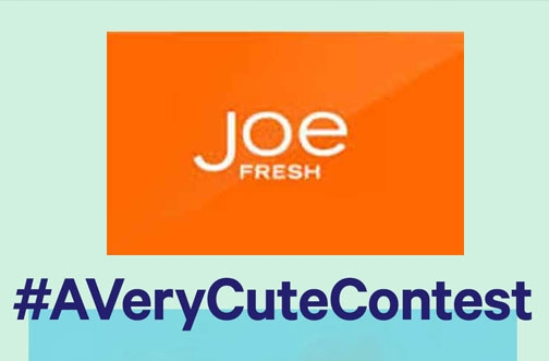Joe Fresh Contest | #AVeryCuteContest