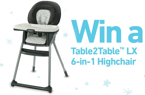 Graco Baby Contest | Graco Table2Table Highchair Sweepstakes