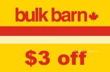 Bulk Barn Coupon – $3 off Coupon