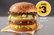 McDonald's Remastered Burgers for $3