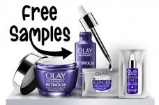 Olay Free Samples | Free Retinol24 Sample Packs