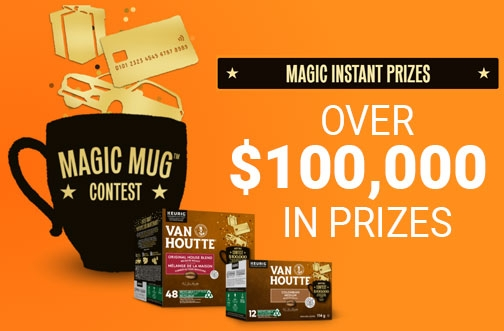 Van Houtte Contest | Magic Mug Contest