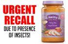 Recall: Heinz Turkey Stew Baby Food
