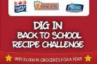 Dig In Back to School Recipe Challenge