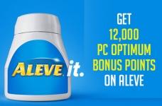 Aleve PC Optimum Offer