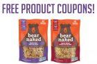 Get a FREE Bear Naked Granola Coupon