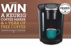 Keurig Coffee Month Contest