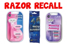 Recall: Ditto Brand Razors