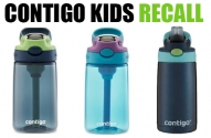 Contigo Kids Cleanable Water Bottle Recall Expanded