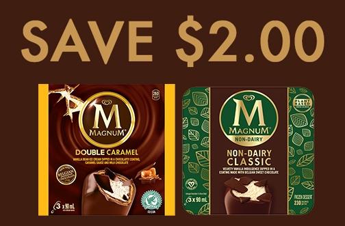 High Value Magnum Ice Cream Coupon