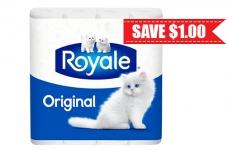 Royale Original Toilet Paper Coupon