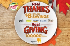 Canada Dry Thanksgiving Coupon Bundle