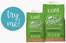Catit Free Product Testing | Try Go Natural! Wood Clumping Cat Litter
