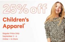 Joe Fresh Sales & Coupons | 25% off Kids Clothes