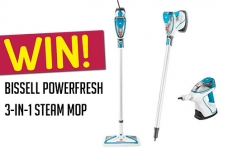 Bissell Contest Canada | Powerfresh Steam Mop Giveaway