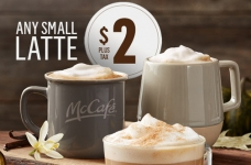 McCafe Latte's For Only $2