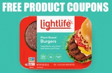 Free Lightlife Burger Coupon