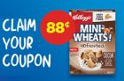 Kellogg's Mini-Wheats Cereal for Just 88¢ Coupon