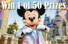 Air Canada Contest | Walt Disney World 50th Anniversary Giveaway