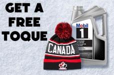 Mobil 1 Promotion | Get a Free Hockey Canada Toque