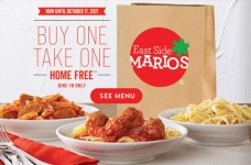 East Side Marios Coupons & Offers Fall 2021 | Buy One, Take One Free