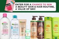 Garnier Contest Canada   Win Skin & Hair Products