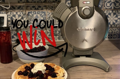 Cuisinart Contest Canada | Cuisinart Waffle Maker Giveaway