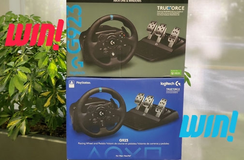 Best Buy Contests | Win a Logitech TRUEFORCE Racing Wheel