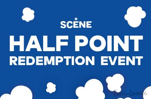 SCENE Half Point Redemption Event