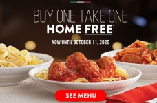 East Side Marios Coupons & Offers | September 2020 + Buy One, Take One Home Free