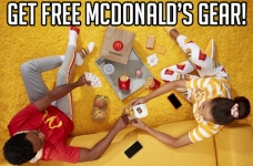Get Free Gear on McDelivery Day