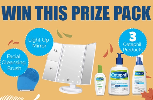 Cetaphil Contest Canada | Cetaphil Fall Contest