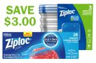 Ziploc Coupon | Save $3 off Bags & Containers
