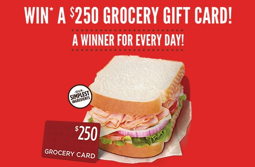 Dempster's Contest | Grocery Gift Card Contest