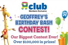 Geoffrey's Birthday Bash Contest