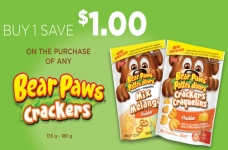 Dare Bear Paws Crackers Coupon