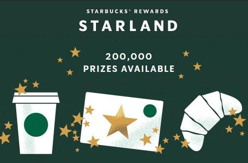 Starbucks Contest Canada