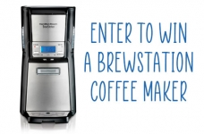 Hamilton Beach Contest | BrewStation Coffee Maker Giveaway