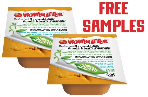 Free WOWBUTTER Samples