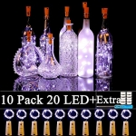 10 Pack Battery Operated Cork Lights