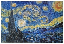 Starry Night by Vincent Van Gogh Jigsaw Puzzle (1000-Piece)