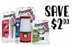 Energizer Coupon | Save on Energizer Lights