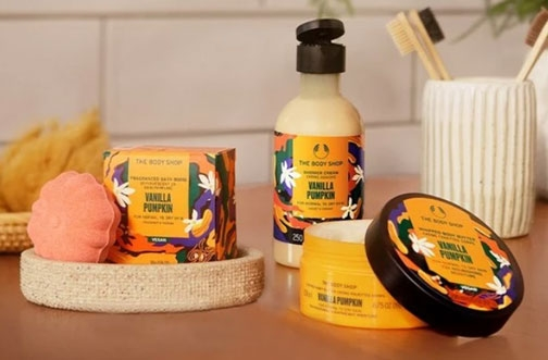 The Body Shop Contest   Fall Giveaway